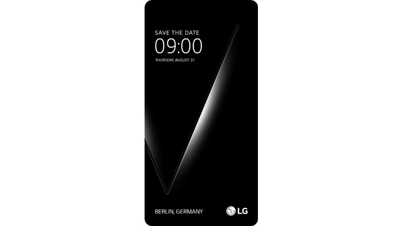 LG Hosting Event on August 31, Likely for the V30