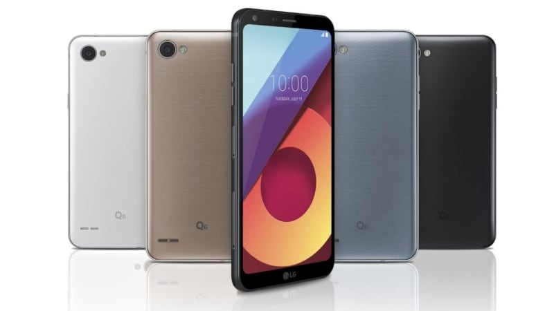 LG Q6+ With 4GB RAM And Android Nougat Launched In India