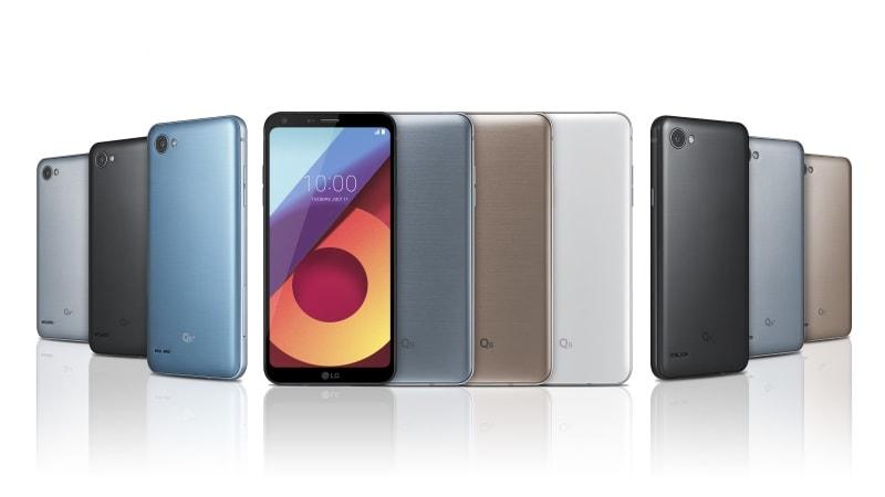 LG Q6+, Q6 और Q6a लॉन्च, इनमें है फुलविज़न डिस्प्ले और स्नैपड्रैगन 435 प्रोसेसर