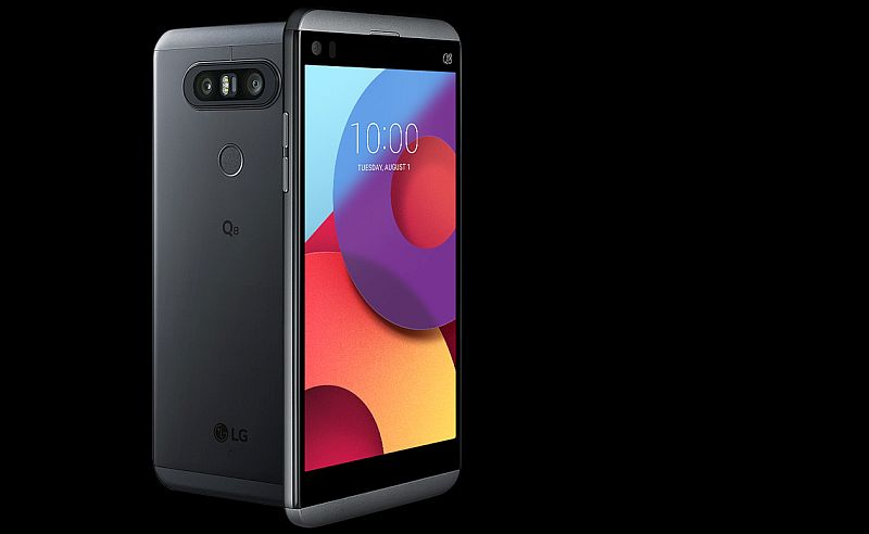 LG Q8 Launched as Smaller V20 Variant With 5.2-Inch QHD Display, Snapdragon 820 SoC