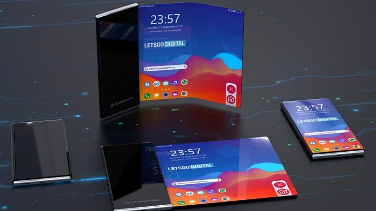 LG is serious about bringing a roll-up smartphone to market