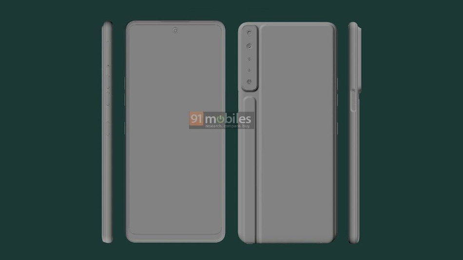 LG Stylo 7 CAD Renders Leak Online, Quad Cameras and Hole-Punch Display Tipped