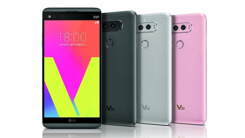 LG V20 India Launch Set for Monday