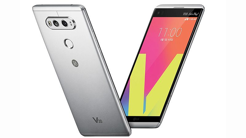 LG V20 to Be Available in India From Thursday at Best Price of Rs. 54,999