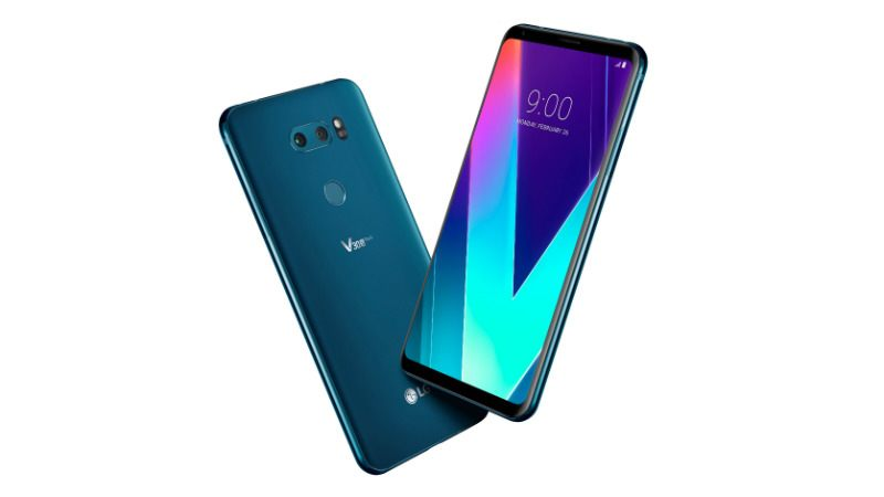 Image result for LG V35 ThinQ design and display