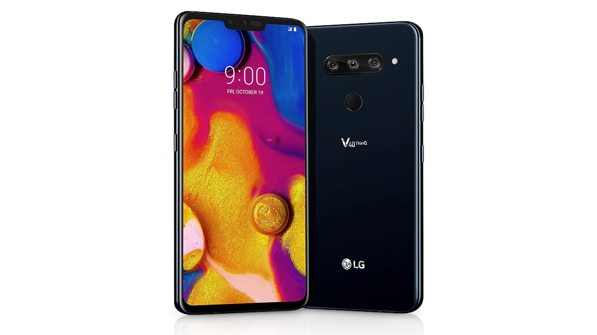 LG V40 ThinQ Receiving a New Update in India With Wi-Fi Calling Support, March Security Patch: Users Report