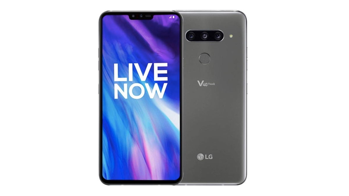 LG V40 ThinQ Android 9 Pie Update Now Rolling Out in India With July