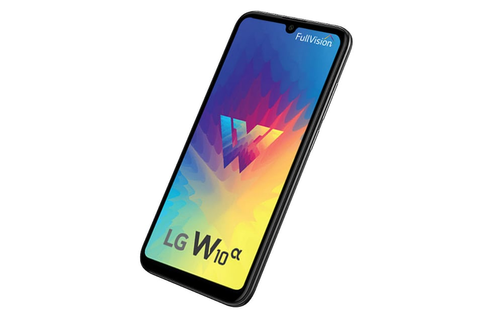 LG W10 Alpha With Waterdrop-Style Notch, 19:9 Display Debuts in India: Price, Specifications