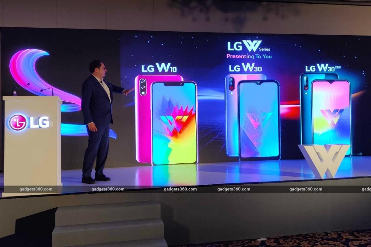 LG W10, LG W30 और LG W30 Pro भारत में लॉन्च, कीमत 8,999 रुपये से शुरू