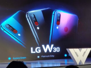 LG W10, W30, W30 Pro Debut in India With 4,000mAh Battery, AI Cameras