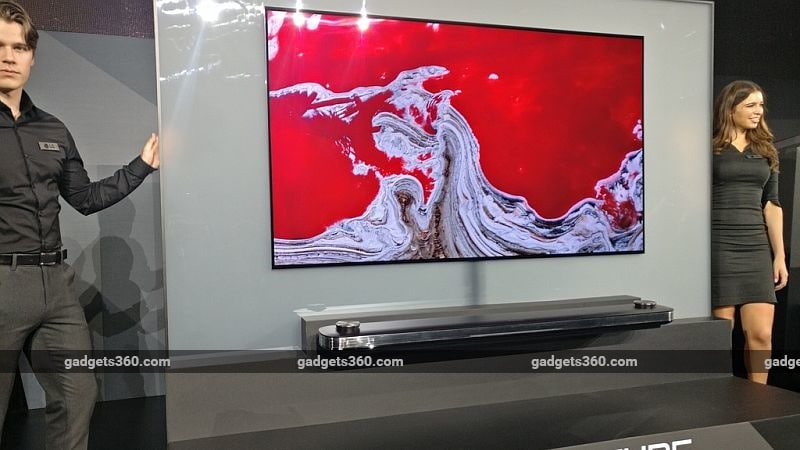 LG Signature OLED TV W Featuring 'Picture-on-Wall' Design Launched at CES 2017