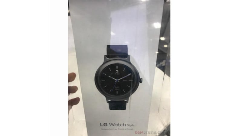 lg watch style retailpackaging gsmarena LG Watch Style Retail Packaging GSMArena