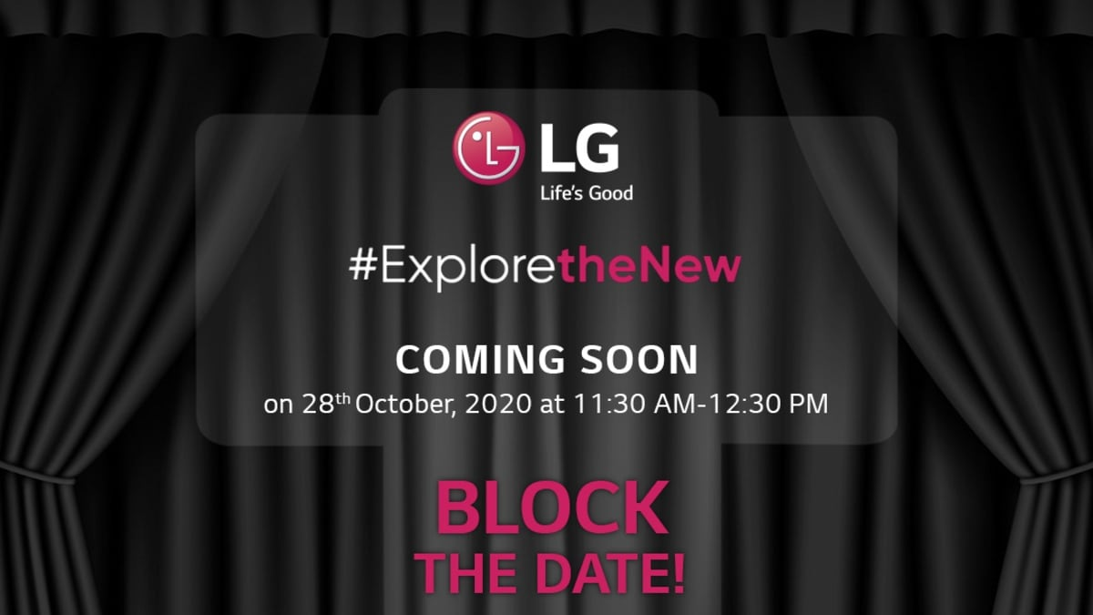 lg wing india launch invite image LG Wing