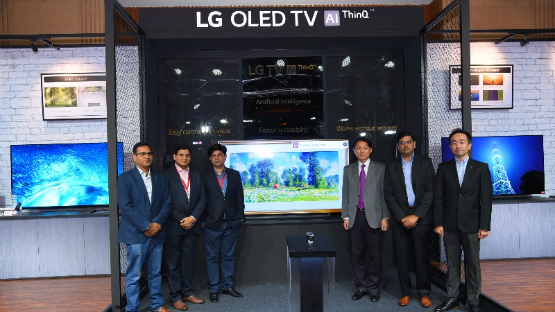 LG Launches New AI-Based TVs With Voice Control Support in