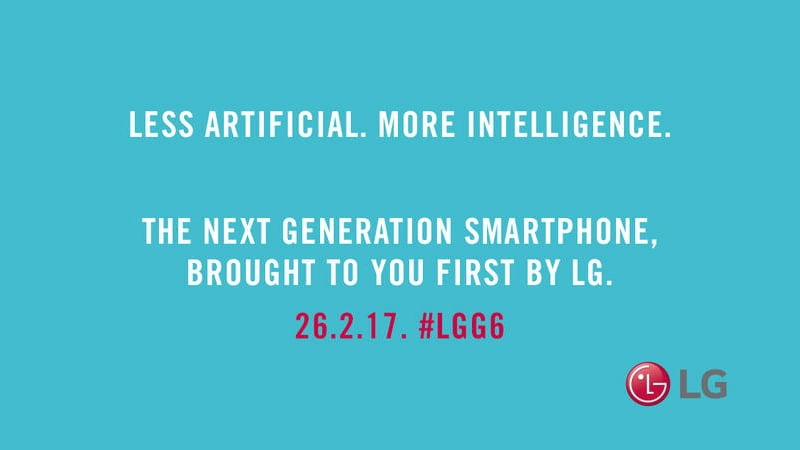 LG G6 Said to Offer 'Less Artificial, More Intelligence' in New Teaser