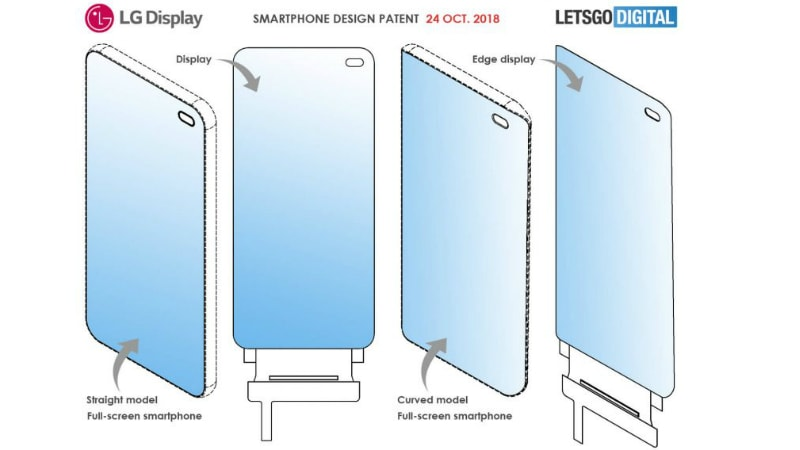 LG Patents In-Display Front Camera for Smartphones: Report
