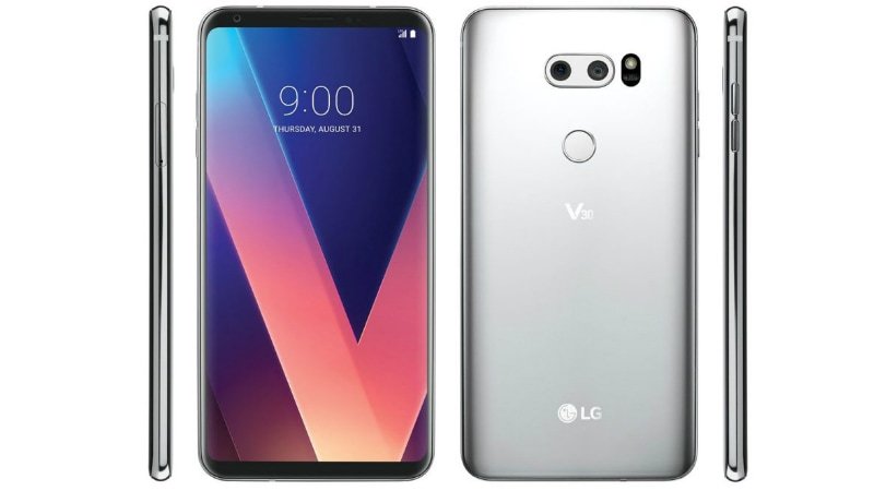 LG V30 Leaked in Press Renders