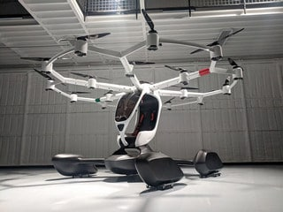 This Startup's New Passenger Drone Is 'Like a Flight Simulator That You Can Ride In,' CEO Says