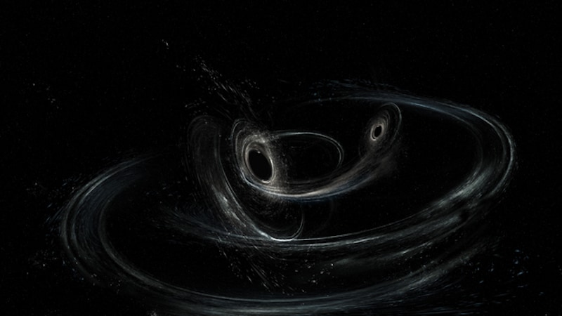 Riding the gravitational wave