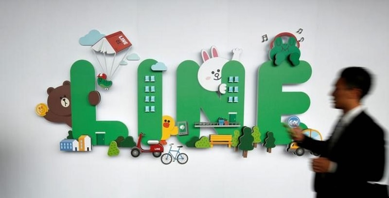 Line Reports Drop in User Numbers, Struggles Outside Home Market