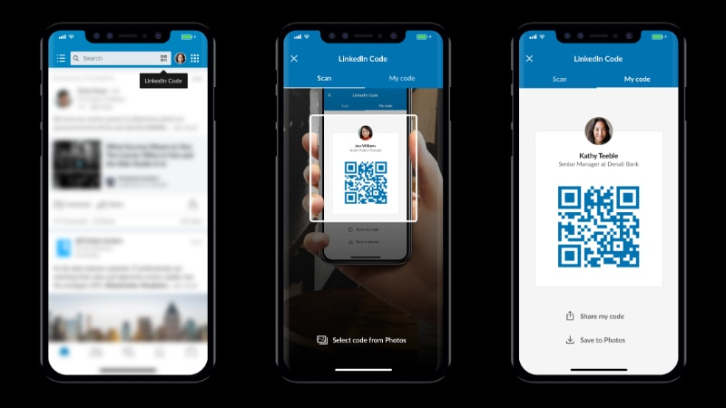 LinkedIn QR Code Lets You Connect With Professionals Faster, New