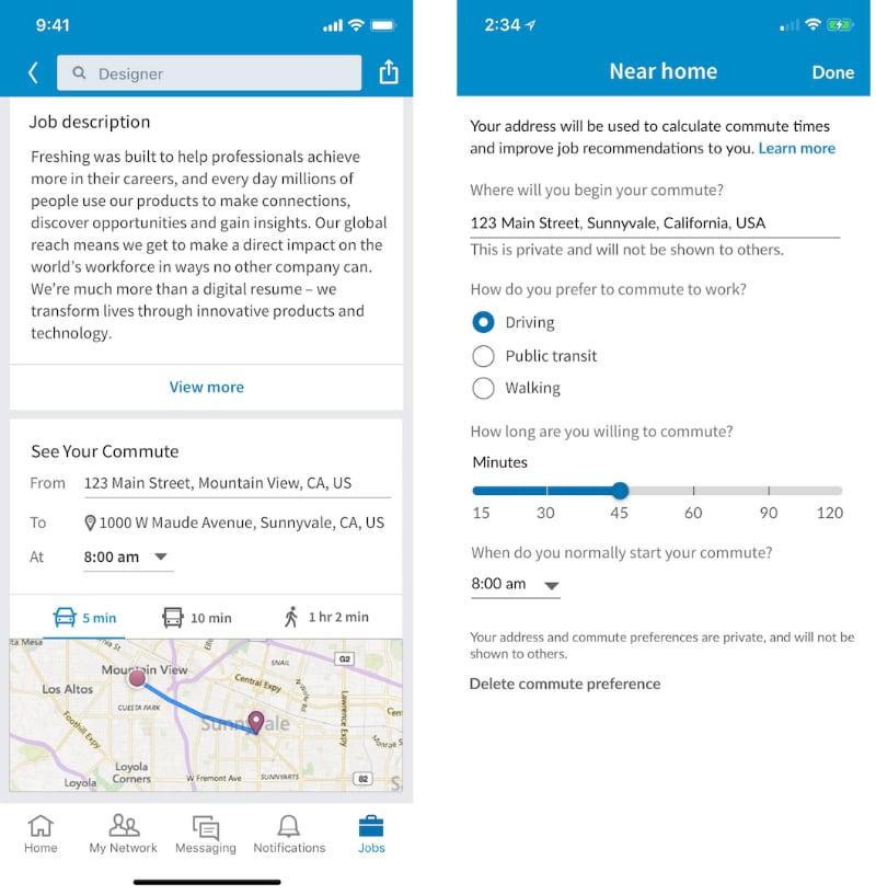 linkedin your commute inline LinkedIn Your Commute