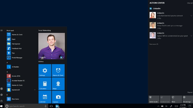 LinkedIn App for Windows 10 Launched, Rolling Out to Gradually Across the Globe