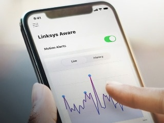 Linksys Aware Motion-Sensing Service Adds Support for Third-Party Connected Devices; Wi-Fi 6E Router Launched