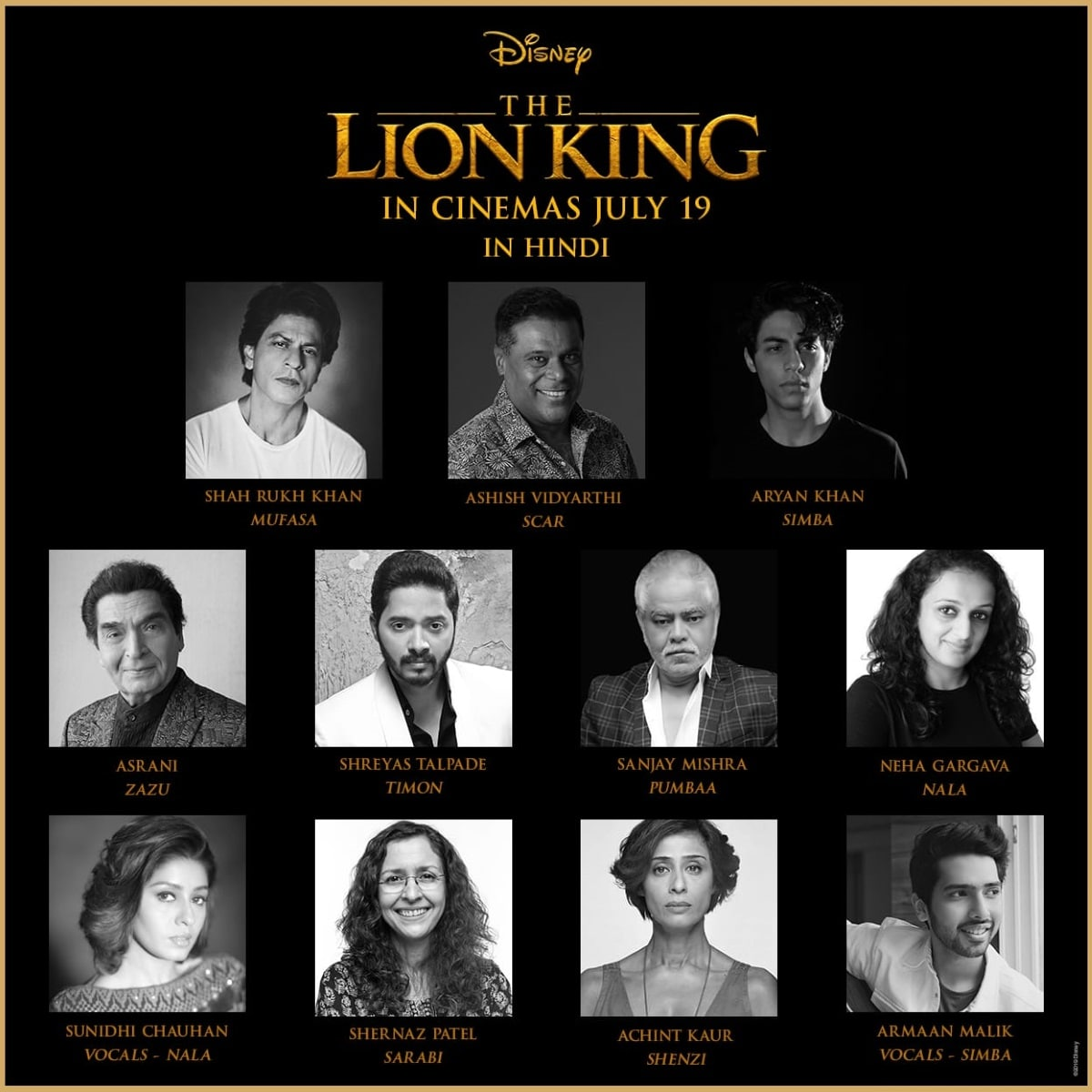 The Lion King Adds More Indian Stars to Its Hindi, Tamil, Telugu