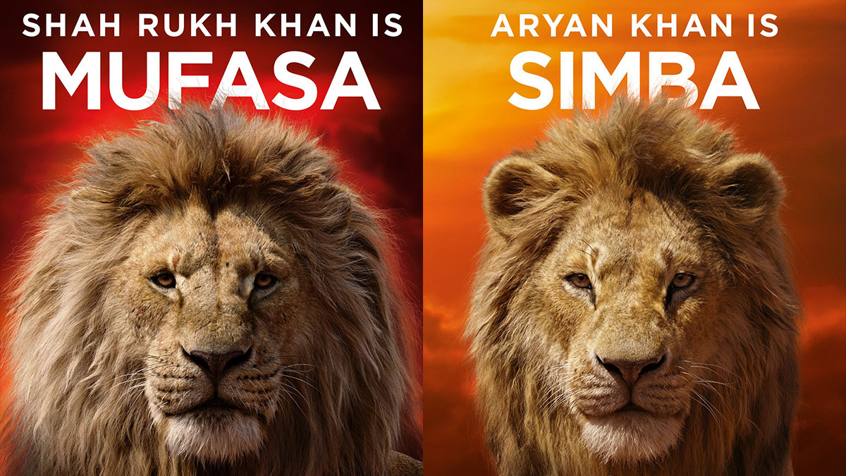 Shah Rukh Khan Son Aryan To Voice Mufasa Simba In The Lion King Hindi Dub Entertainment News