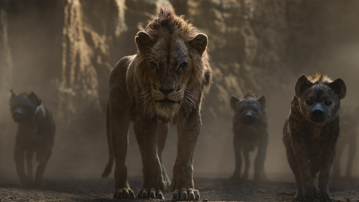 lion king scar hyenas Lion King 2019