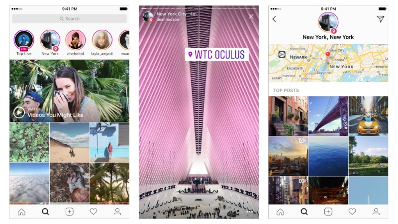 Instagram Stories Can Now Be Searched Using Location or Hashtag