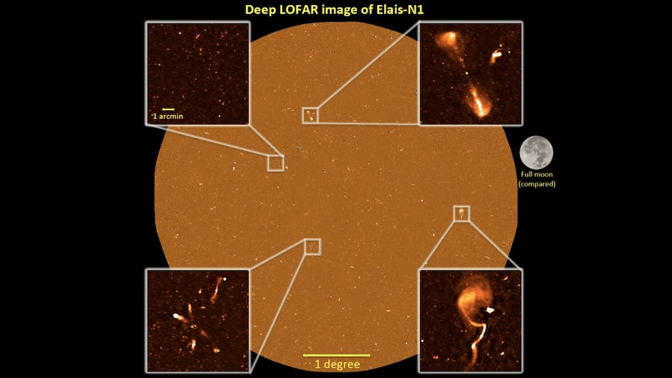 LOFAR Radio Telescope Reveals Thousands of Star-Forming Galaxies in Early Universe
