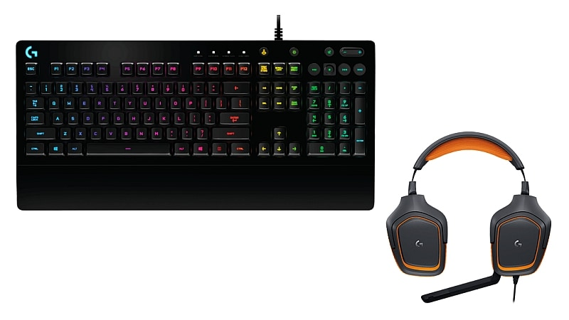 Logitech G213 Prodigy RGB Gaming Keyboard, G231 Prodigy Gaming Headset Launched in India