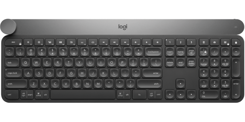 Logitech Craft keyboard borrows heavily from Microsoft's Surface Dial