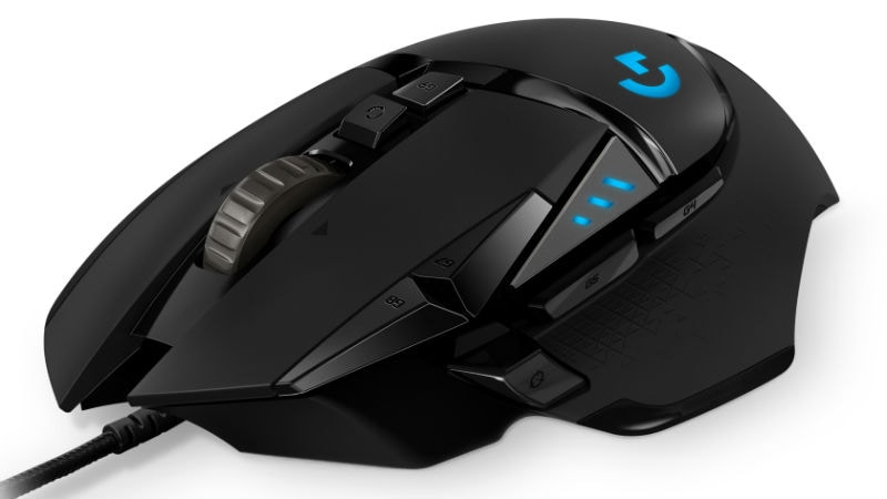 aa4c051d7dc Logitech G502 Gaming Mouse With 11 Programmable Buttons Launched at Rs.  6,495