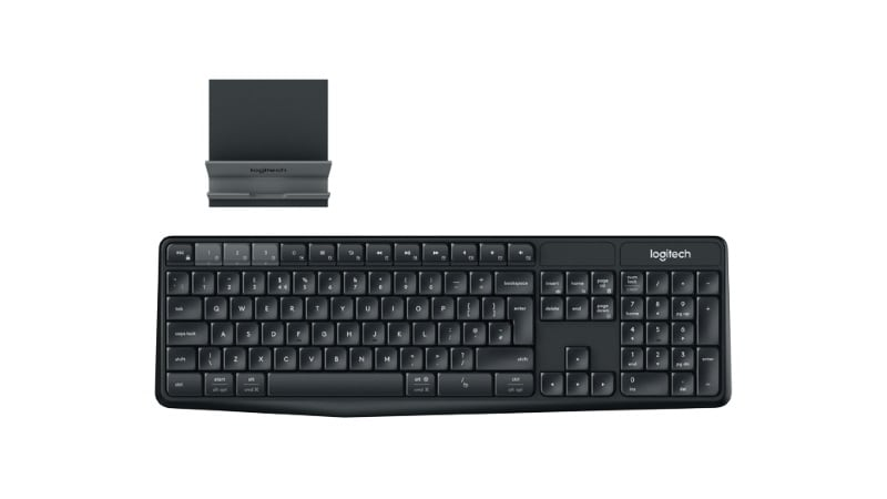 Logitech K375s Multi-Device Wireless Keyboard and Stand Combo Launched at Rs. 1,995