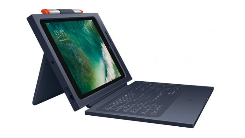 Logitech Rugged Combo 2 Crayon Stylus Launched for iPad