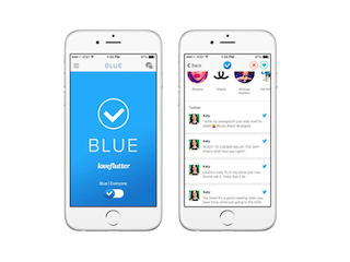 Loveflutter Blue Is a Dating App That's Exclusively for Verified Twitter Users