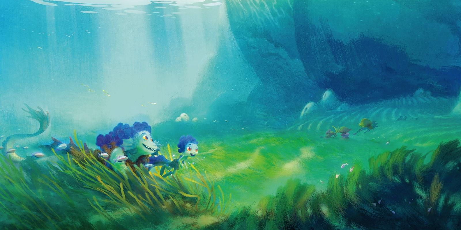 luca murk water luca pixar movie