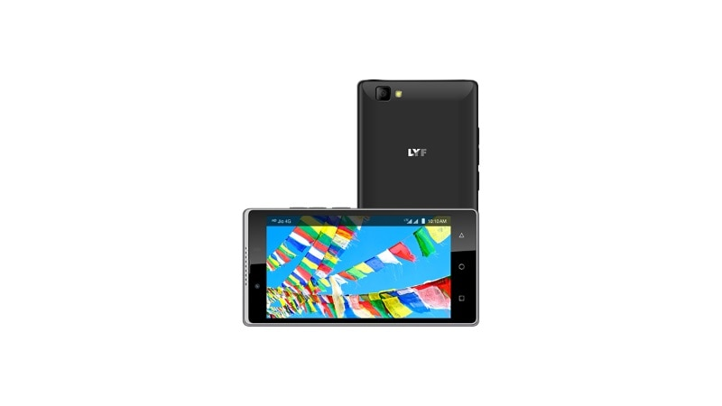 Lyf Wind 7S With 4G VoLTE Support Launched at Rs. 5,699
