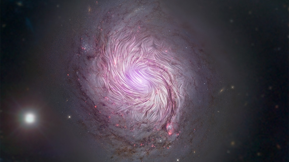 'Completely Invisible, Yet Unbelievably Influential': NASA Explains How Spiral Galaxies Get Their Shape