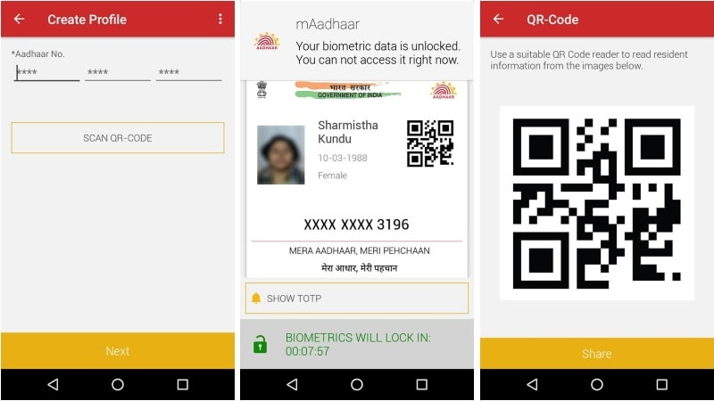 MAadhaar: Now carry Aadhaar on your mobile