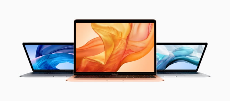 MacBook Air 2018 Display Brightness Bumped Up to 400 Nits With macOS 10.14.4 Update