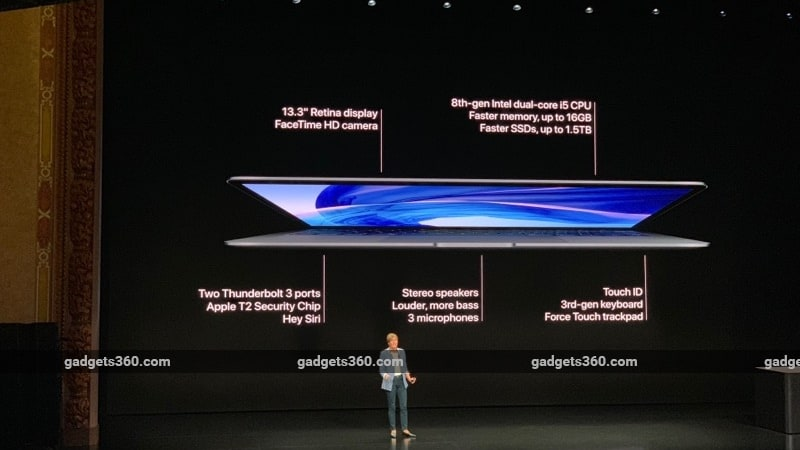 Macbook Air 2018 With 13 3 Inch Retina Display And Touch Id Launched