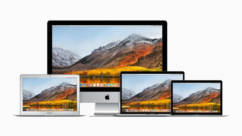 Apple releases macOS High Sierra 10.13.5