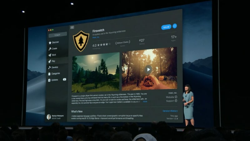 macOS 10.14 Mojave Unveiled at WWDC 2018 With Dark Mode, All-New Mac App Store, and More