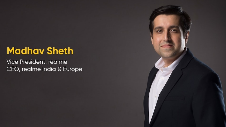 Realme India CEO Madhav Sheth to Now Lead Europe Operations as Well