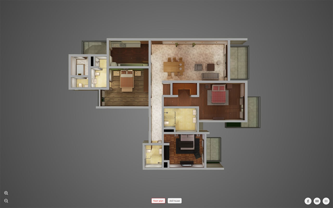 makaan home tour floor plan Makaan home tour floor plan