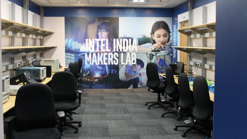 maker lab india intel maker lab